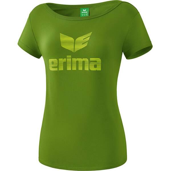 ERIMA Damen Essential T-Shirt Grün