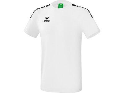 ERIMA T-Shirt Essential 5-C Weiß
