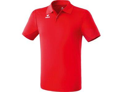 ERIMA Herren Funktions Poloshirt Rot