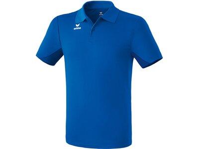 ERIMA Herren Funktions Poloshirt Blau