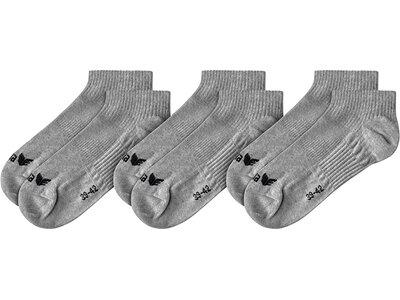 ERIMA 3-Pack Füßlinge Grau