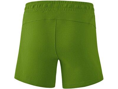 ERIMA Fußball - Teamsport Textil - Shorts Essential Sweat Short Damen Grün