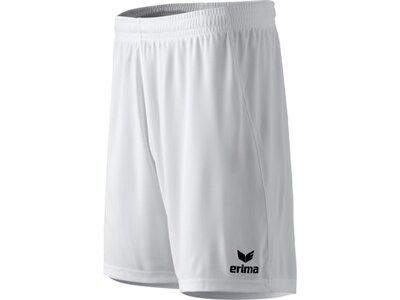 ERIMA Herren RIO 2.0 Shorts mit Innenslip Weiß