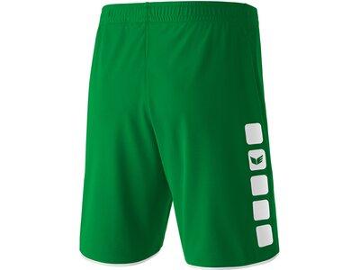 ERIMA Kinder CLASSIC 5-CUBES Shorts Grün