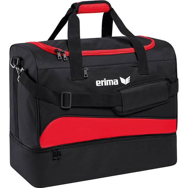 ERIMA Sporttasche mit Bodenfach Rot