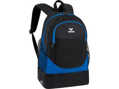 ERIMA Rucksack mit Bodenfach Blau