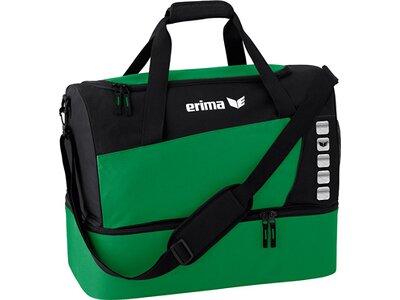ERIMA Sporttasche mit Bodenfach Grün