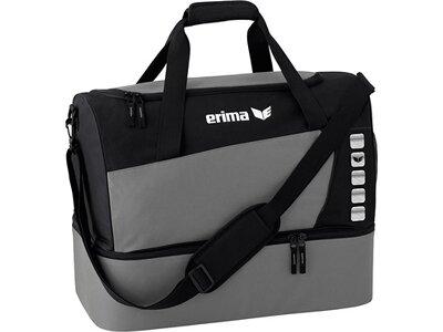 ERIMA Sporttasche mit Bodenfach Grau