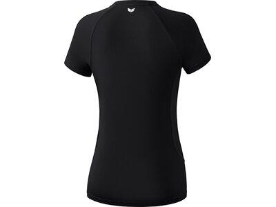 ERIMA Damen PERFORMANCE T-Shirt Schwarz