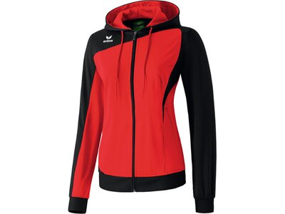 ERIMA Damen Club 1900 Trainingsjacke mit Kapuze Rot