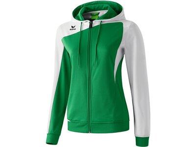 ERIMA Damen Club 1900 Trainingsjacke mit Kapuze Grün