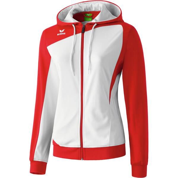 Erima Damen Jacke Club 1900 Trainingsjacke mit Kapuze