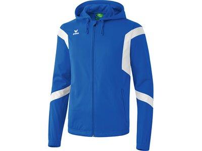 Erima Jacke Classic Team Trainingsjacke mit Kapuze Blau