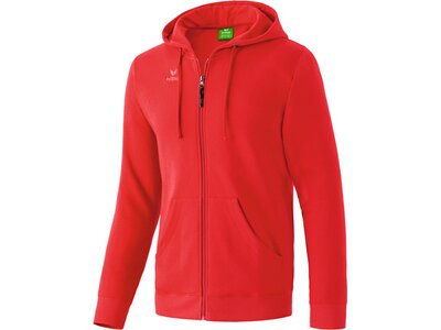 ERIMA Herren Hooded Jacket Rot