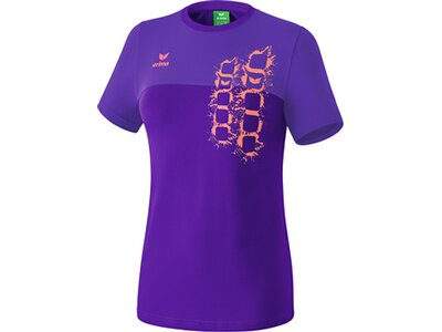 ERIMA Damen Graffic 5-C T-Shirt Lila