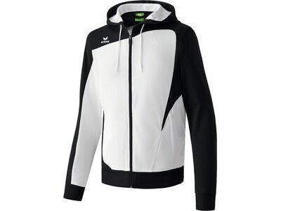 Erima Kinder Jacke CLUB 1900 Trainingsjacke mit Kapuze weiß