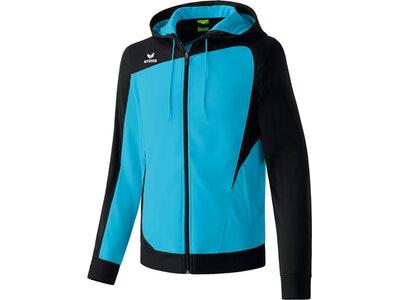 Erima Erwachsene Jacke CLUB 1900 Trainingsjacke mit Kapuze Blau