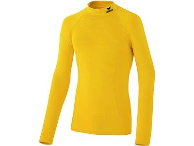 Erima Erwachsene T-Shirt Support T-Shirt gelb