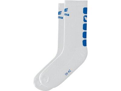 ERIMA Herren CLASSIC 5-CUBES Socken Weiß
