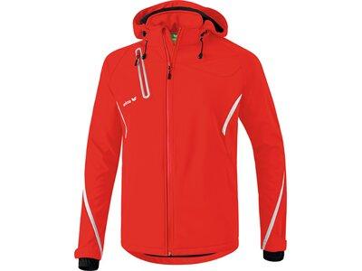 Erima Damen Jacke Softshelljacke Funktion Rot
