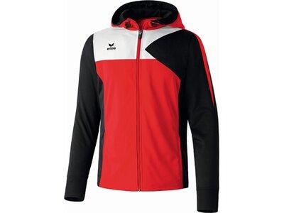 ERIMA Kinder Premium One Trainingsjacke mit Kapuze Rot
