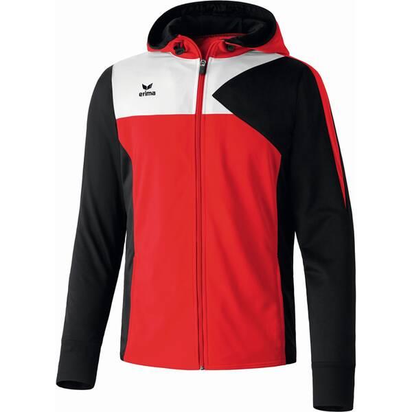 ERIMA Kinder Premium One Trainingsjacke mit Kapuze