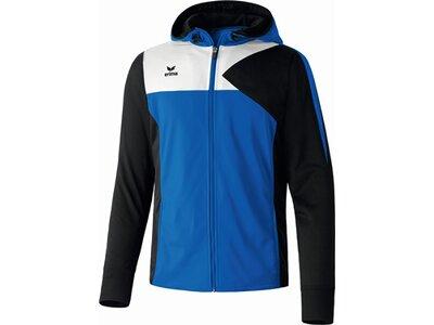 ERIMA Herren Premium One Trainingsjacke mit Kapuze Schwarz
