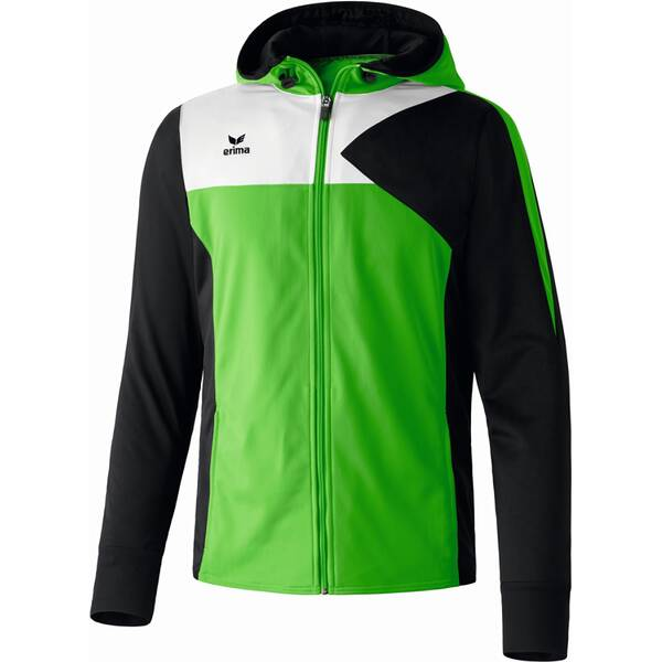 ERIMA Herren Premium One Trainingsjacke mit Kapuze