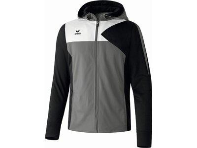 ERIMA Herren Premium One Trainingsjacke mit Kapuze Grau