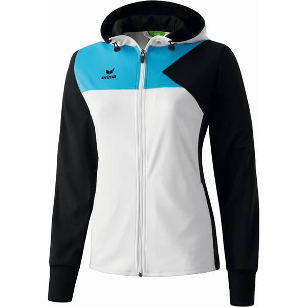 ERIMA Damen Premium One Trainingsjacke mit Kapuze