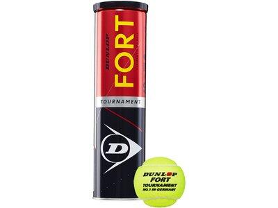 DUNLOP Tennisball DUNLOP FORT TOURNAMENT Gelb