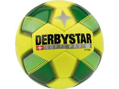 DERBYSTAR Ball FB-FUTSAL SOFT PRO Gelb