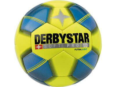 DERBYSTAR Ball FB-FUTSAL SOFT PRO LIGHT Gelb