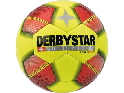 DERBYSTAR Ball FB-FUTSAL SOFT PRO S-LIGHT Gelb