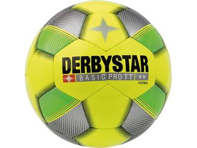 DERBYSTAR Ball FB-FUTSAL BASIC PRO TT Gelb