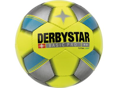 DERBYSTAR Ball FB-FUTSAL BASIC PRO LIGHT Gelb