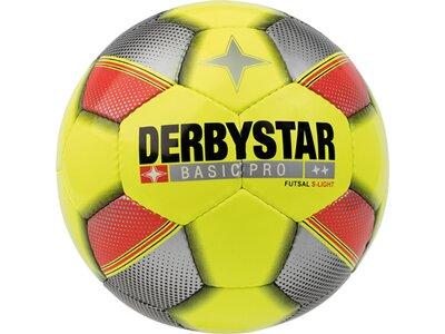 DERBYSTAR Ball FB-FUTSAL BASIC PRO S-LIGHT Gelb