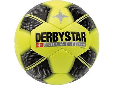 DERBYSTAR Ball FB-FUTSAL BRILLANT TT Gelb