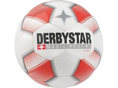 DERBYSTAR Ball Magic Pro S-Light Weiß