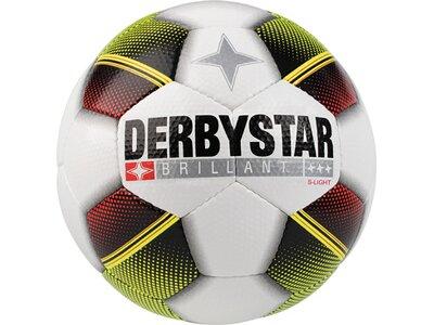 DERBYSTAR Ball Brillant S-Light Weiß