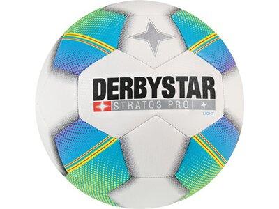 DERBYSTAR Ball Stratos Pro Light Weiß