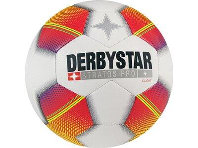DERBYSTAR Ball Stratos Pro S-Light Weiß