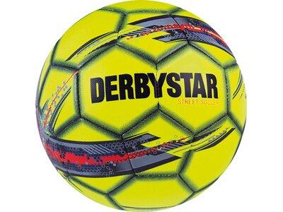 DERBYSTAR Ball Street Soccer Gelb