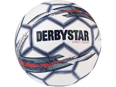 DERBYSTAR Ball Street Soccer Weiß