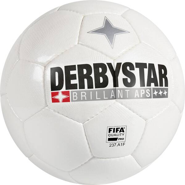 DERBYSTAR Ball Brillant APS Weiß