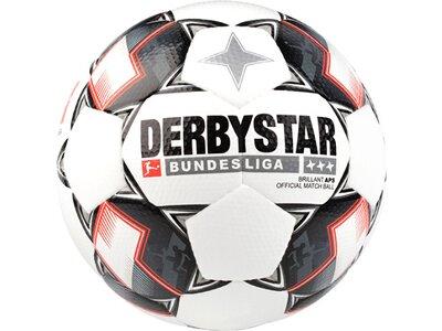 DERBYSTAR Equipment - Fußbälle Bundesliga Brillant APS Spielball Weiß