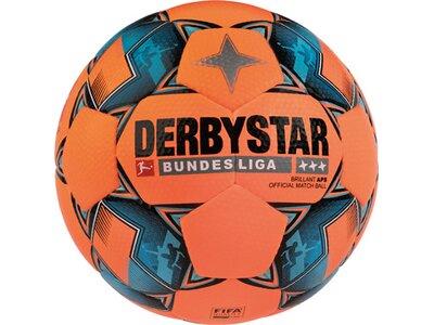 DERBYSTAR Ball FB-BL BRILLANT APS WINTER Orange