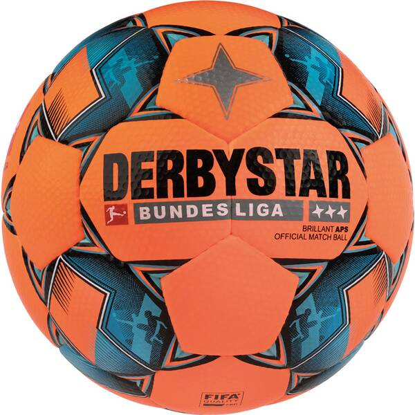 DERBYSTAR Ball FB-BL BRILLANT APS WINTER