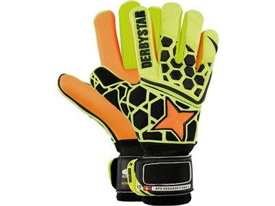 DERBYSTAR Herren Handschuhe APS Hexasoft Pro 1 Orange