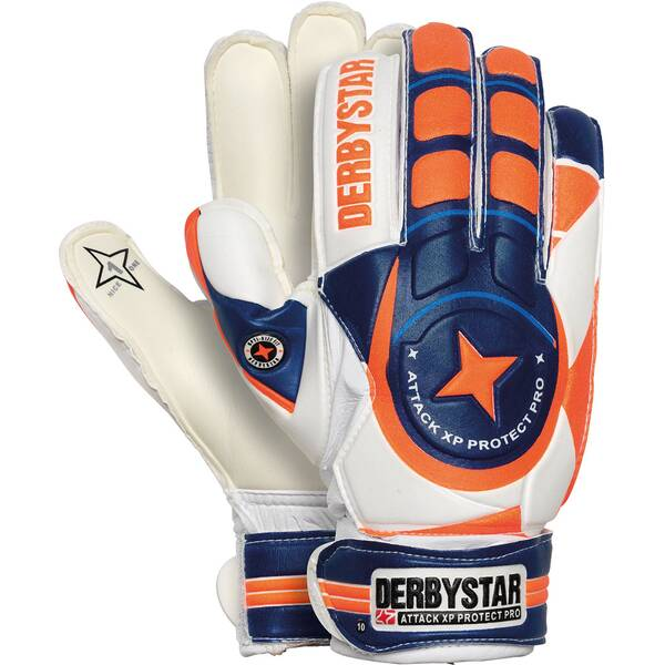 DERBYSTAR Kinder Handschuhe Attack XP Protect Pro